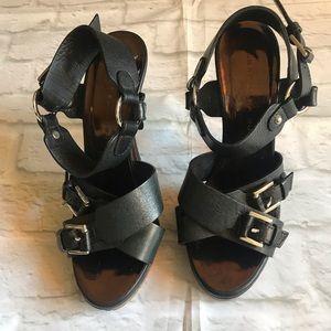 Barbara Bui Buckle Strap Heels Sz 6.5